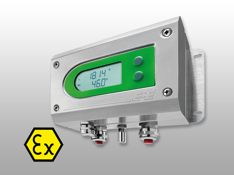 EE300Ex Intrinsically safe moisture in oil sensor