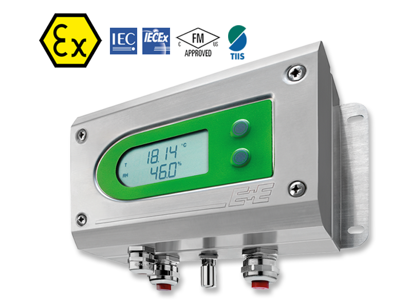 EE300Ex - Intrinsically Safe Moisture in Oil Transmitter